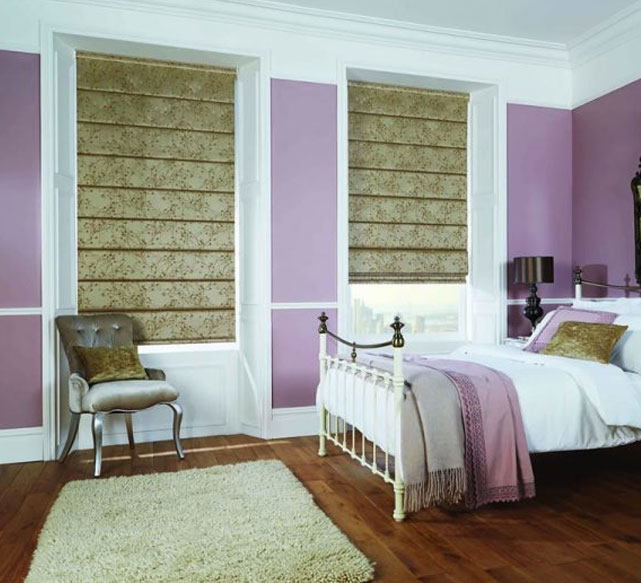 Simply Shutter Roman Blinds