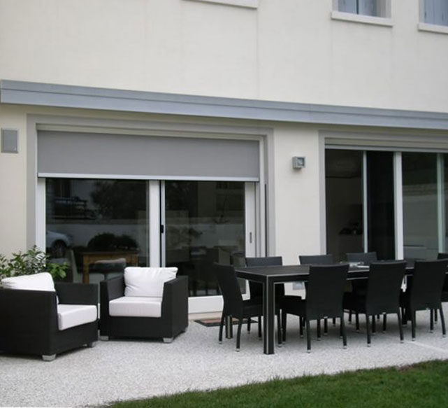Simply Shutters Shan Folding Arm Awnings